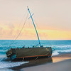 DSC03641 David Scarola Photography, Jupiter Beach Sunrise, Cuban Refugee Boat Washed Ashore, August 2016