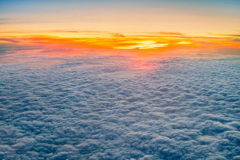 DSC09021 David Scarola Photography, Sunset at 30,000 feet