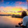 DSC01079 David scarola Photography, Sunrise View of Singer Island From the Blue Heron Bridge, Dec 2018