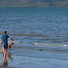 Fetch ! Pallarenda Beach, Townsville, Queensland.