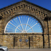Buxton Station  Fan Window
