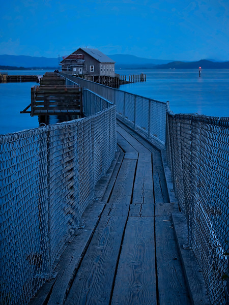 Blue Hour at the Pier