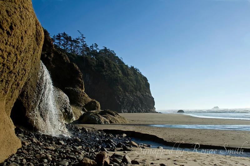 Beach Waterfall