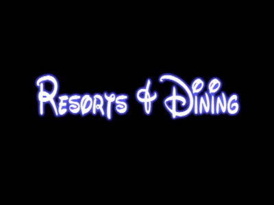 Resorts and Dining 1 of 2