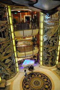 Inside the Caribbean Princess ship