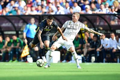 Real Madrid and Juventus