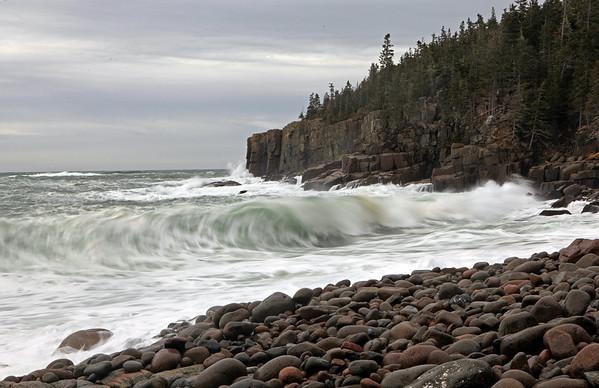 Heavy Surf at Otter Cliffs