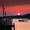 Working Harbor Sunset