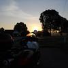 I-40 at Sun up near Waverly, TN