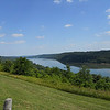 Ohio river from the Indiana side looking over into Kentucky