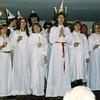 Bilder från Luciafesten 1978