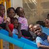 NOVEMBER<br /> African refugee children enjoy the play area while awaiting interviews with their parents at UNHCR's registration centre in 6th of October City.<br /> © UNHCR Egypt / Scott Nelson   <br /> أطفال لاجئون أفارقة يستمتعون باللعب في منطقة الألعاب داخل المفوضية في انتظار المقابلات مع ذويهم. مدينة 6 أكتوبر، الجيزة.