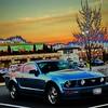 Retro Mustang
