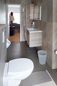 master bathroom looking towards  master bedroom