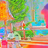 Colorful Cannon Beach