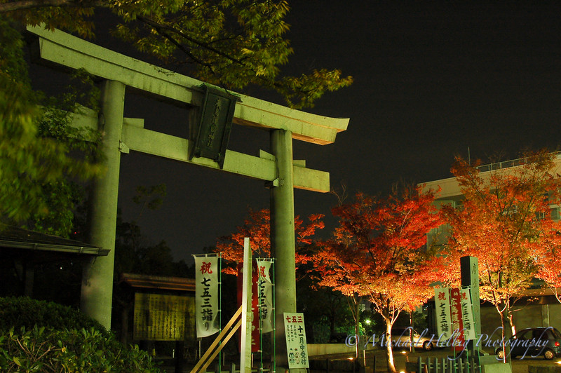 Hiroshima Castle Shrine Gate - Hiroshima Prefecture