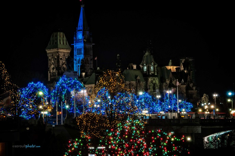 View of the Parliment Building in Ottawa Canada's Capital
