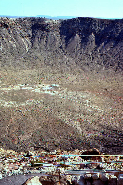 Sunset Meteor Crater