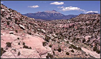 La Sal Mountains, Moab, Utah