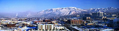 Winter in Salt Lake