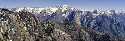 Twin Peaks and Lone Peak