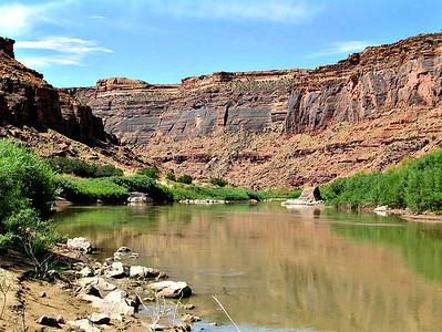 The Colorado River Near Moab, UT