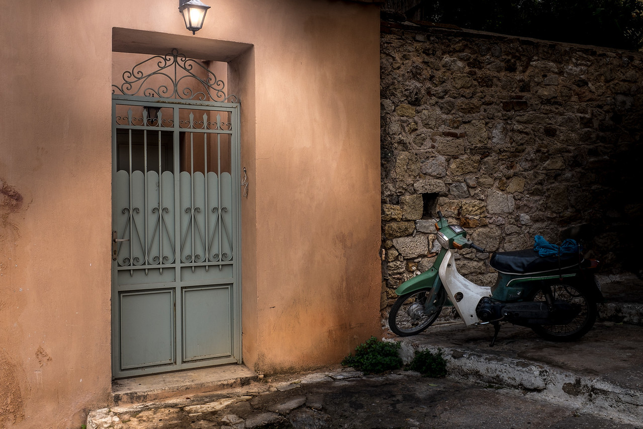 Athens Courtyard Scooter