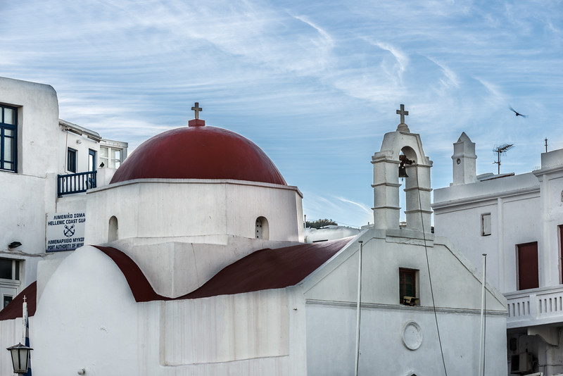 Mykonos Red Top Church