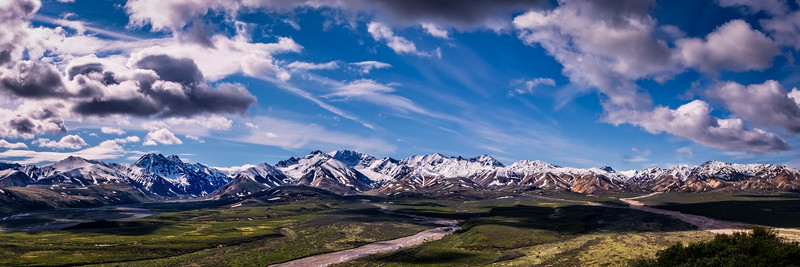 Mountains in Denali Park