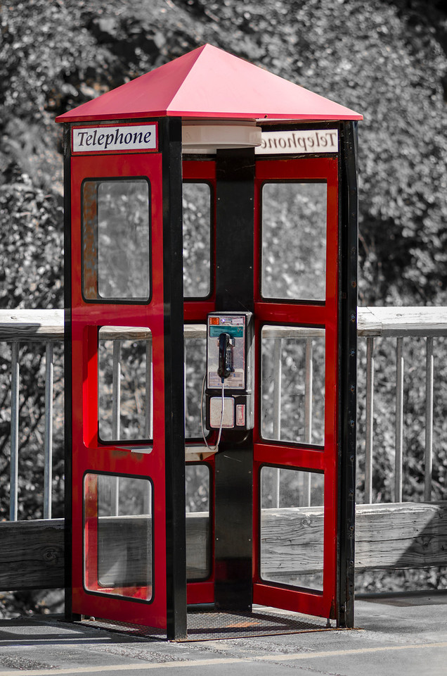 Skagway Phone Booth