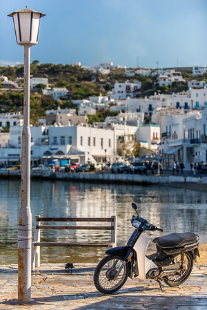 Mykonos Harbor Scooter