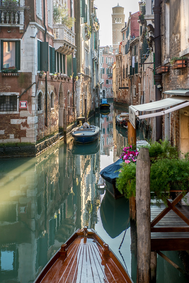 Venice Canal Home Boats