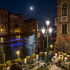 Venice Grand Canal Night Diners