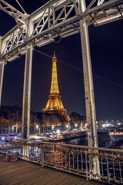 Eiffel Bridge locks