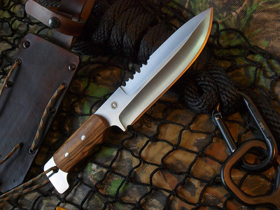 Relentless Knives M1 Commando w/Bicote wood handles