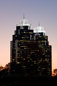 Atlanta Towers in Winter