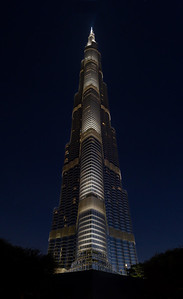 The Burj Khalifa (largest building in the world), Dubai, UAE 2012.
