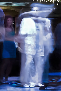 Slow motion capture of two dancers in Miami 2011.