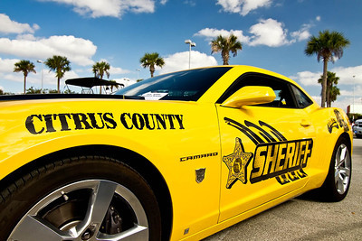 Citrus County Sheriff's Camaro at car show in Oviedo, Florida.