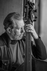 Black and White Cello Player, in Central Park, NY 2013.