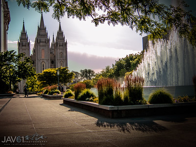 Salt Lake Monmon Temple-2023