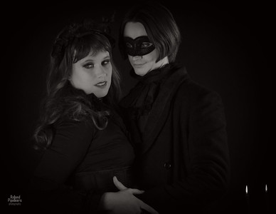 Model: Sir Edgar T. Finchley & Lady Livia, MUA: Nina Almo