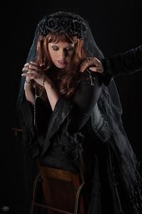 Model: Sir Edgar T. Finchley & Lady Livia, MUA: Nina Almo