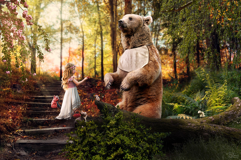 The Girl and The Bear
