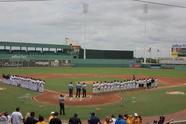 Varsity Baseball State Semifinal Game 2016