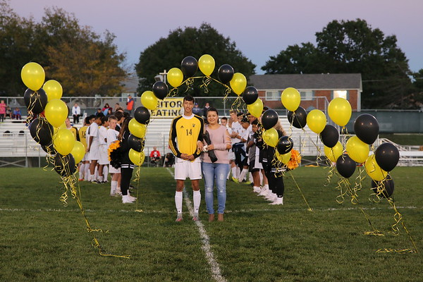 Varsity Boys Soccer Senior Night 2017