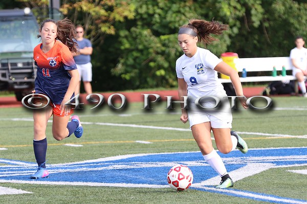 Varsity Girls Soccer Mahopac HS vs. Horace Greeley 9-2017