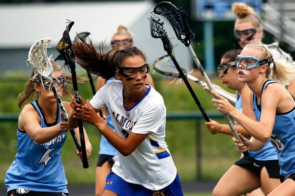 Class A North girls' lacrosse championship game: Windham at Falmouth