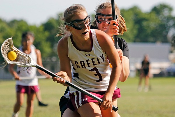 Girls' lacrosse: Brunswick at Greely