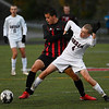 Gorham at Scarborough in playoff soccer action